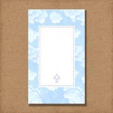 ST-027---Santinho-impresso-em-papel-opalina-branco-240g,-sobreposto-por-papel-vegetal-branco-importado-100g.-Medalhinha-presa-com-fita-de-cetim-azul-claro-.-Vendidos-em-múltiplos-de-8.-Pedido-mínimo-de-24-unidades-R$120,00.-